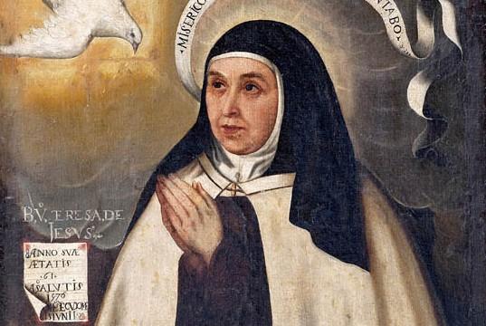 imagen Santa Teresa de Jesús