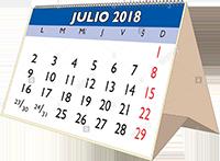 Calendario orientativo