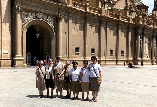 Despedida de la comunidad Edith Stein de Zaragoza.