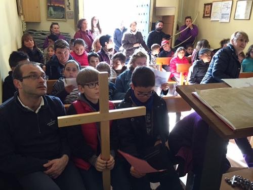 Encuentro de grupos de Catequesis de Confirmación en la «Ermita de la Mare de Déu de la Salut», Tarragona