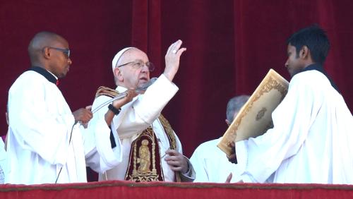 Mensaje del Papa Francisco, Navidad 2017