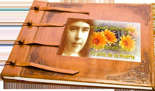 26 de febrero. 78 Aniversario de la muerte de la Hn. Teresa Mira García, cmt