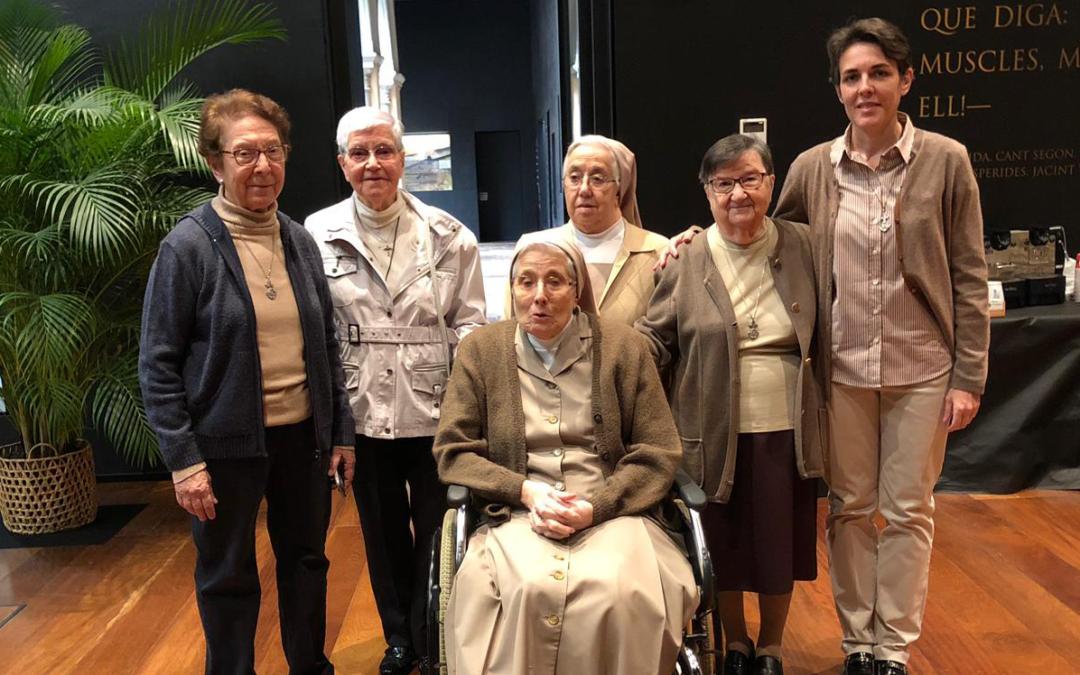 Despedida de la comunidad «La Inmaculada» de la Residencia Sacerdotal Sant Fructuós de Tarragona