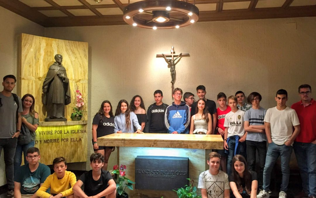 Alumnos de 3º de la ESO visitan los lugares palautianos