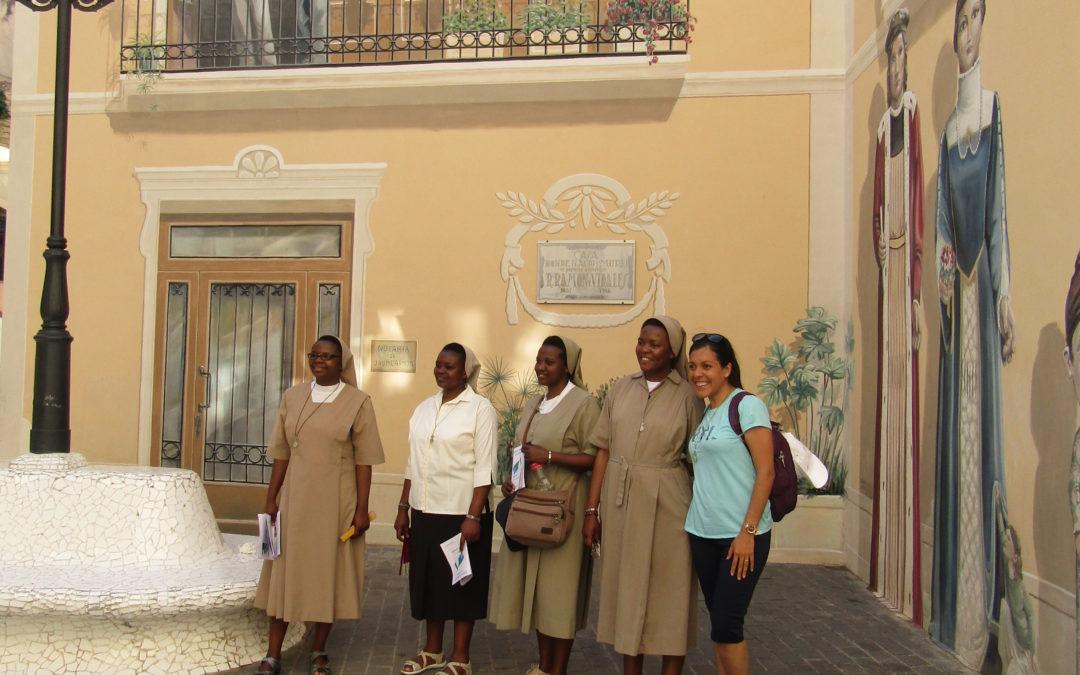Itinerario con las Junioras CMT del curso de profundización del Carisma