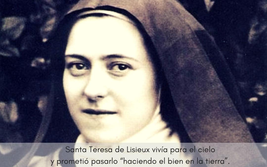 Día 1 de octubre. Fiesta de Santa Teresa de Lisieux. «En el corazón de la Iglesia yo seré el amor»